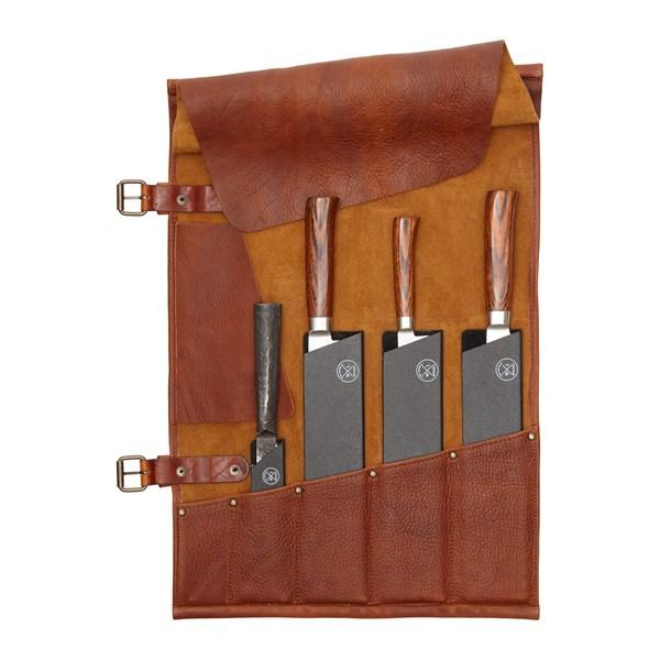 Witloft Knivrulle Läder Cognac (brun) - knivtillbehör