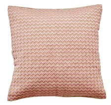 DAY HOME Zig Zag Cushion Cover Kuddfodral Bomull, Jute, Broderad 20 x 25 x 1 cm AZANI