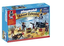 Adventskalender 2016, Hemlig skattö med pirater, Playmobil (6625)
