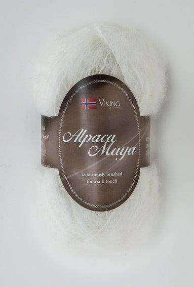 Viking of Norway Alpaca Maya 50 gr Hvit 700