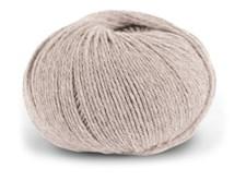 Dale Garn Pure Eco Baby Wool Økologisk Ull 50 g Lys Beige Melert 1355