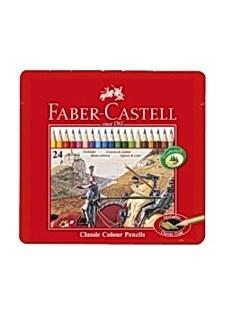 Fargeblyanter FABER-CASTELL 24 farger