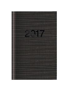 Kalenteri Mini 2017 Letts Memo viikkoaukeama musta
