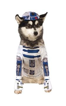 Star Wars Hunddräkt R2-D2, XL