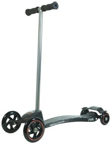 Scooter Mini Kick Quad, Black, Stiga