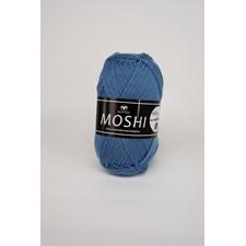 Svarta Fåret Moshi Garn Alpackamix 50g mellanblå 65