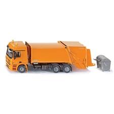 Siku gul søppelbil, FAUN Variopress, 1:50