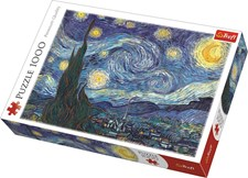 The Starry night, Pussel 1000 bitar