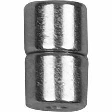 Magneettilukko, 6x5 mm, 5 settiä, hopeanväriset