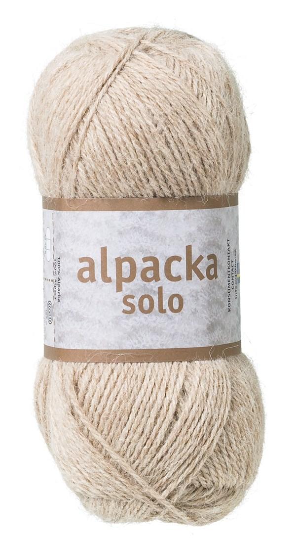 Alpacka Solo Ullgarn 50g Kamel (29103)