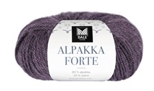 Dale Garn Alpakka Forte Garn 50 g Blålilla melert 705