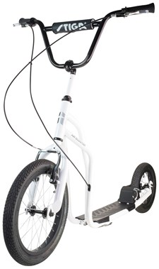 "Stiga Sparkcykel, Air Scooter 16"", Vit"