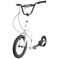 "Sparkesykkel, Air Scooter 16"", Hvit, Stiga"