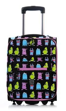 Koffert Monster, Svart, Pick & Pack