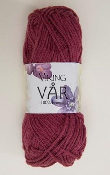 Viking of Norway Vaar 50 gr burgundi