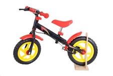 Springcykel med svart broms, Evadäck