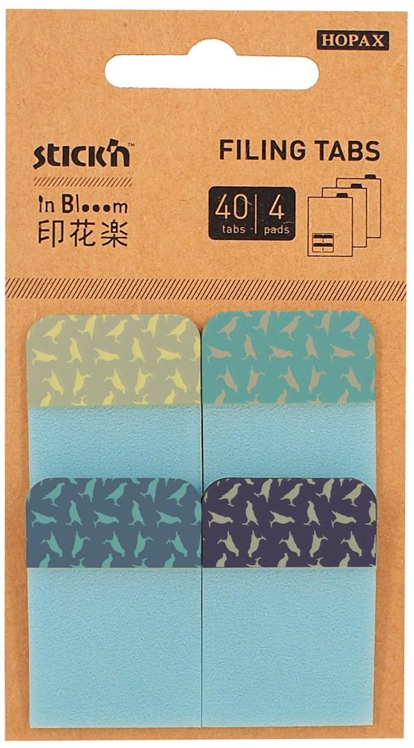Arkivfaner Stick'n In Blooom Birds 4x10blad