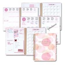 Ukekalender 19/20 GRIEG Life Planner A5 Rosa