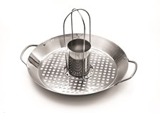 Wok & Beer Can Chicken Roaster, Outset