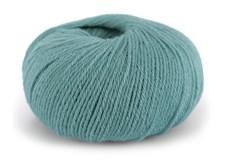 Dale Garn Pure Eco Baby Wool Økologisk Ull 50 g Dus Sjøgrønn 1316