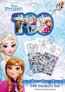 Pysselset Klistermärken Holograf Frost Sense 100-pack