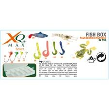 Fiskelåda Fiskedrag Gummi 32pcs