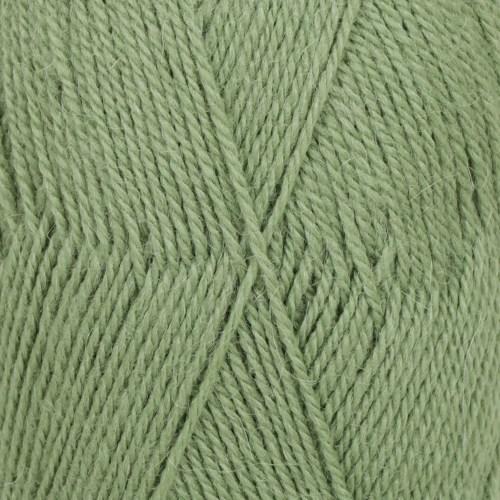 Drops Flora Uni Colour Garn Ullmix 50g Green 15