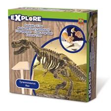 Pysselset, Hugga ut - T-rex