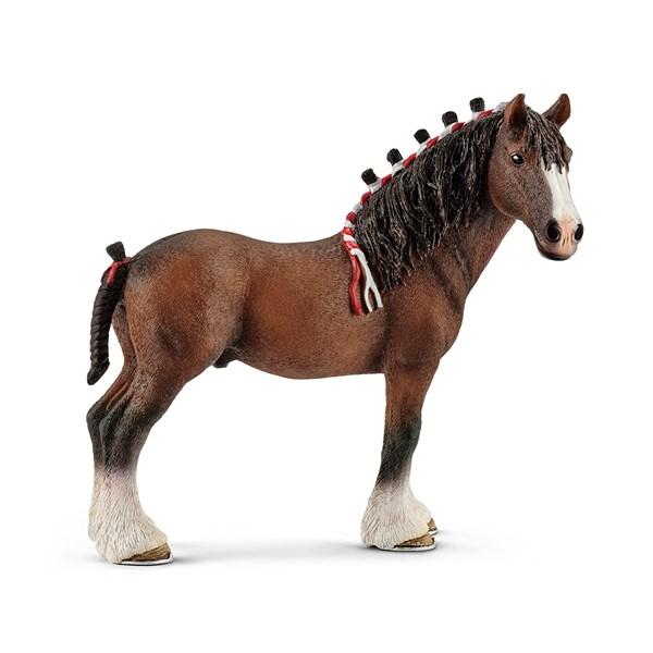 Häst  Clydesdale Valack  Schleich - figurer & miniatyrer