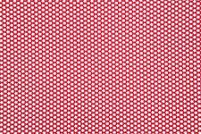 Bomullstyg Blommor 50x160 cm Röd/Vit
