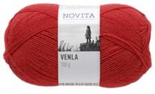 Novita, Venla, Garn, Ullmiks, 100 g, Tomat 543
