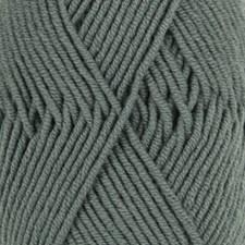 Drops, Merino Extra Fine Uni Colour, Garn, Ullgarn, 50 g, Tåkeskog 37