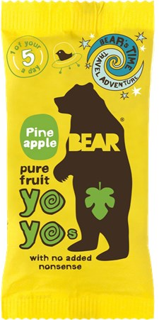 Bear Yoyos Fruktgodis Ananas 20 g