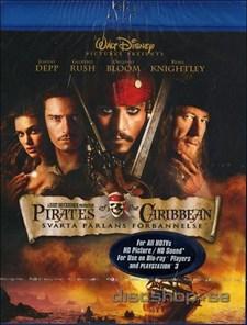 Pirates of the Caribbean 1: Svarta Pärlans Förbannelse (Blu-ray)