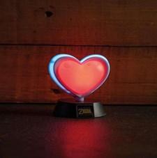 Zelda Heart Container 3D Lamppu