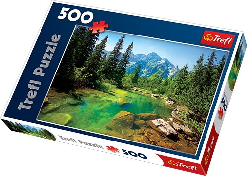 Tatrafjellene, Puslespill, 500 brikker, Trefl