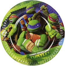 Ninja Turtles assietter, 8 st