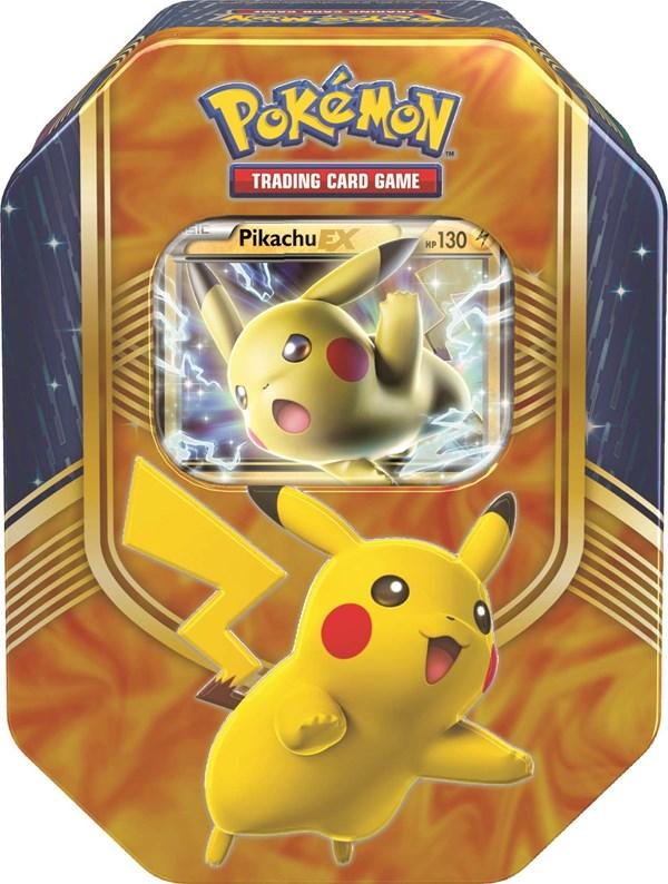 POKÉMON Tin Box -peltirasia Pikachu 2016