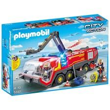 Flyplass-brannbil med lys og lyd, Playmobil City Action (5337)