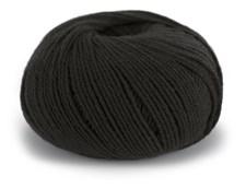 Dale Garn Pure Eco Baby Wool Lanka Ekologinen Villa 50 g musta 1304
