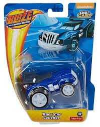 Blaze ja Monsterikoneet Diecast Race Car Crusher