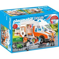 Ambulans med blinkande ljus, Playmobil (70049)