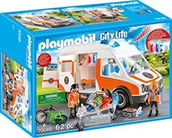 Ambulans med blinkande ljus, Playmobil (70049)