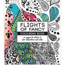 Aikuisten värityskirja, koko 19,5x23 cm,  64 , Flights of Fancy, 1kpl