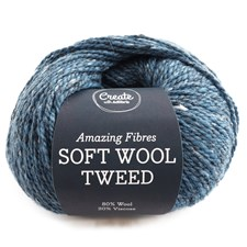 Adlibris Soft Wool Tweed 50g Agate Blue A473
