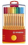 Ritpenna Fineliner Stabilo Color Parade Point 88 Multi 20-pack