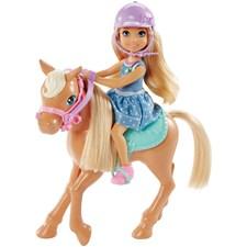 Chelsea med ponny, Barbie