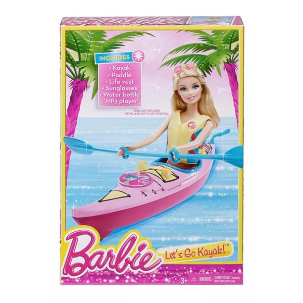 Let's Go Kayak  Barbie - dockor & tillbehör