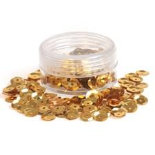 Paljetti Sequin Bowl kulta, 7 mm