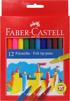 Tuschpennor Barn Faber-Castell 12-pack